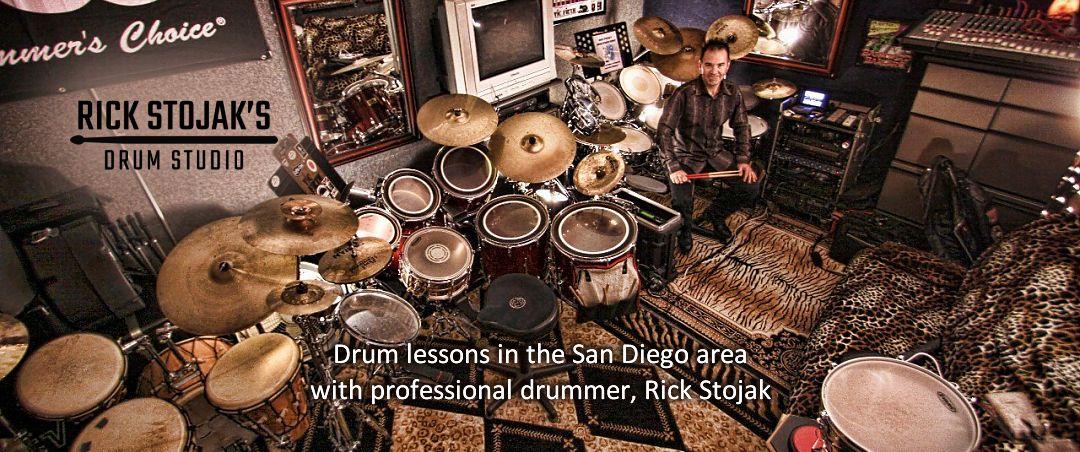 professional drummer rick stojak